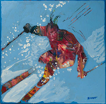 Downhiller by Robert Bissett