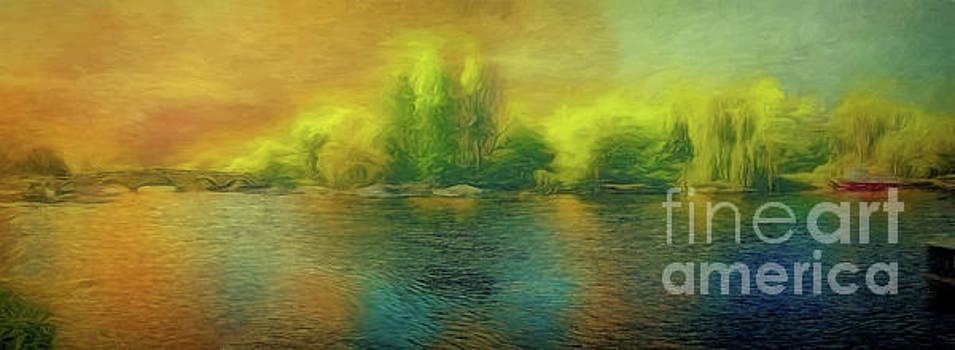 Downriver Glow by Leigh Kemp