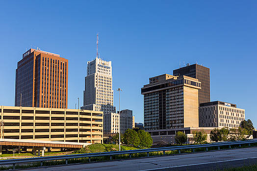 Downtown Akron IV by Tim Fitzwater
