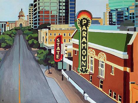 Downtown Austin by Melinda Patrick