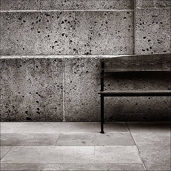 Downtown Bench by Jason Kittelberger