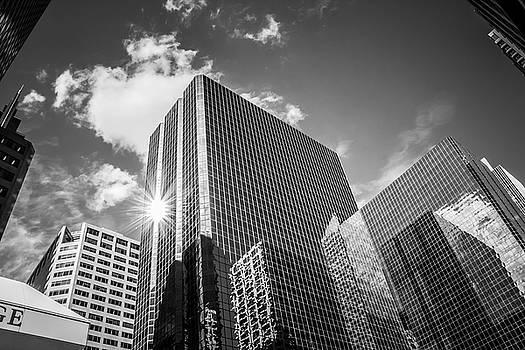 Downtown Calgary Skyline by William Cruz