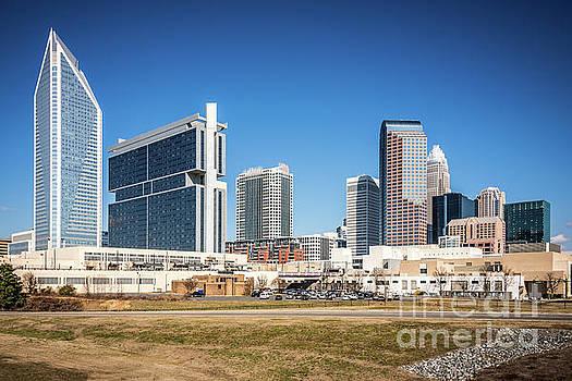 Paul Velgos - Downtown Charlotte Skyline Skyscrapers