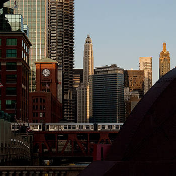 Downtown Chicago by Jane Melgaard