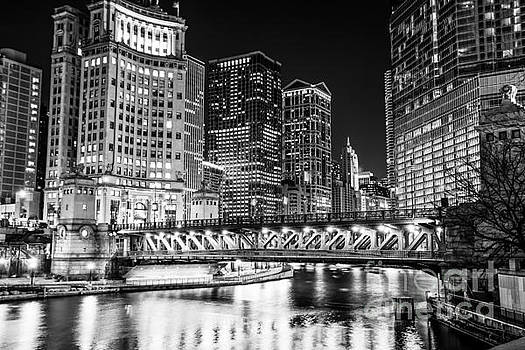 Paul Velgos - Downtown Chicago Michigan Avenue Bridge Picture