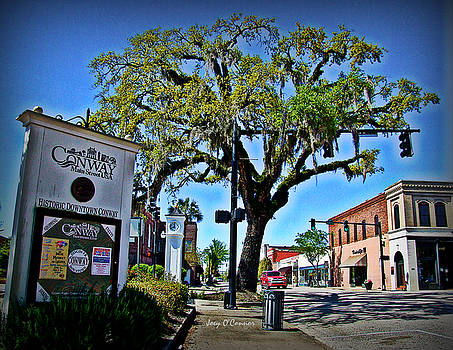 Downtown Conway South Carolina by Joey OConnor