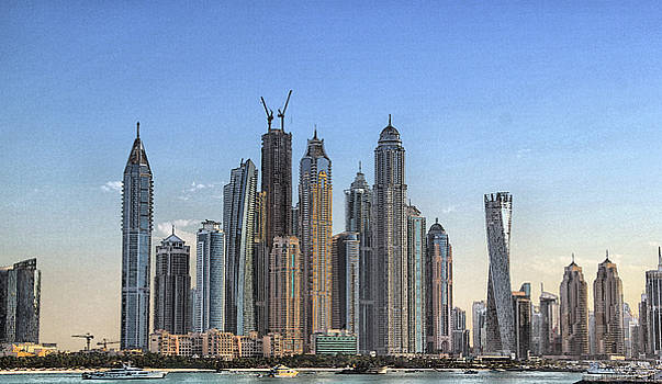 Downtown Dubai by Sandeep Gangadharan