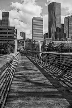 James Woody - Downtown Entrance - BW View