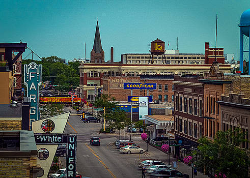 Downtown Fargo by Betsy Armour