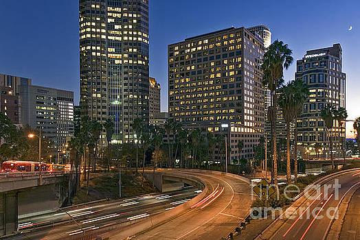 David Zanzinger - Downtown Freeway traffic moving