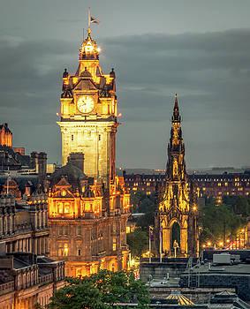 Downtown Glow by Andrew Matwijec