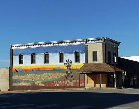 Downtown Guthrie by Carl Sheffer