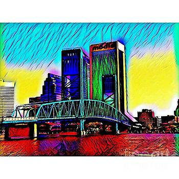 Downtown Jacksonville, Florida by Clint Day