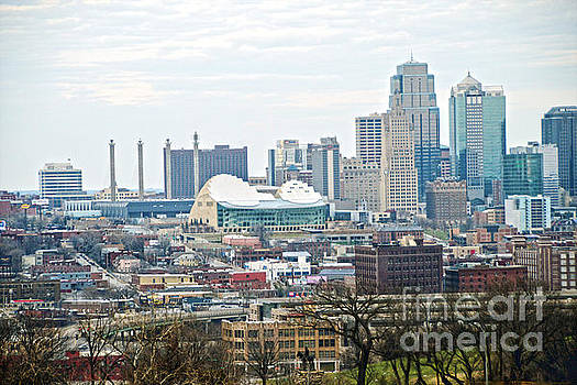 Downtown Kansas City View by Catherine Sherman