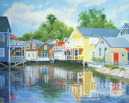 Downtown Kennebunkport Arundel Court by Candace Lovely