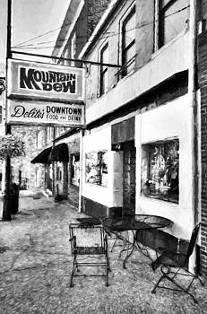 Mel Steinhauer - Downtown Maysville Kentucky # 3 Black and White