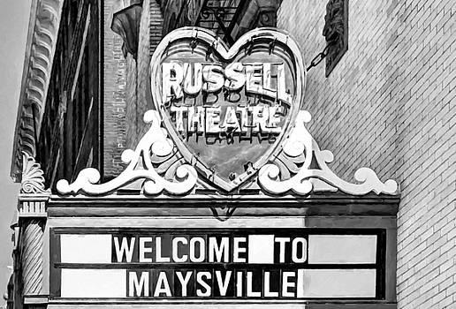 Mel Steinhauer - Downtown Maysville Kentucky # 4 Black and White