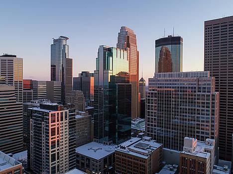 Downtown Minneapolis by Gian Lorenzo Ferretti