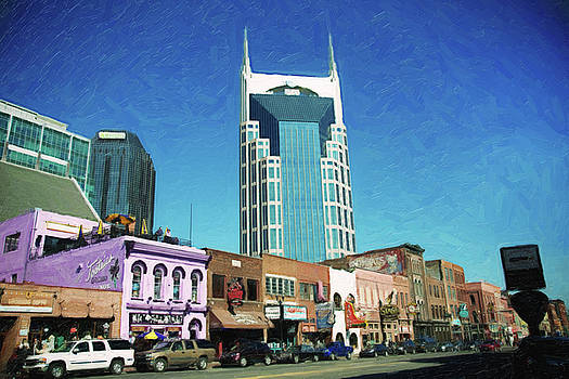 Downtown Nashville by Sue Collura