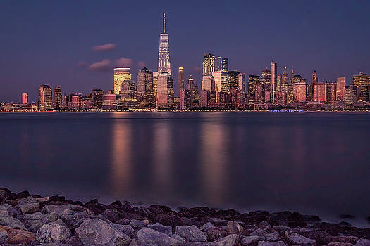 Francisco Gomez - Downtown NYC at Sunset