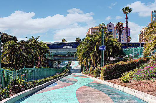 Downtown Oceanside by Ann Patterson