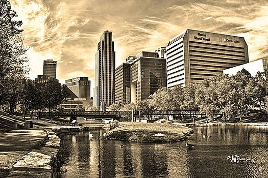 Downtown Omaha Nebraska by Jeff Swanson