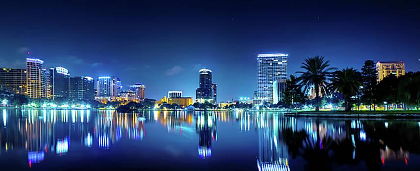 Downtown Orlando Panorama by Mark Andrew Thomas