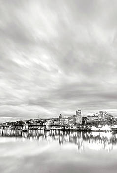 Downtown Portland Oregon Willamette River Waterfront by Dustin K Ryan