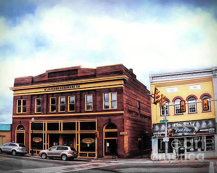 Downtown Radford - Historic Buildings by Kerri Farley