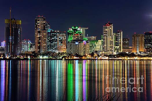 Downtown San Diego by Eddie Yerkish