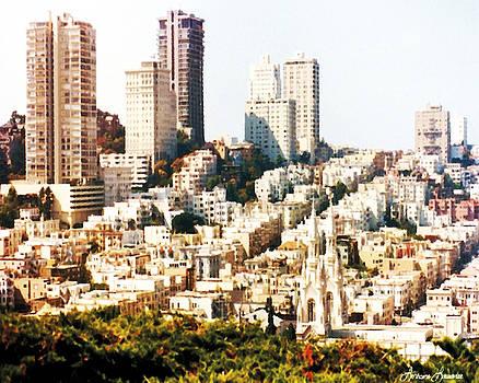 Downtown San Francisco 1 by Lorraine Louwerse