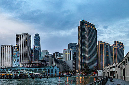 Downtown San Francisco by Bill Gallagher