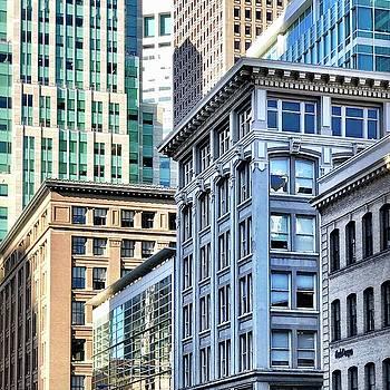 Downtown San Francisco by Julie Gebhardt