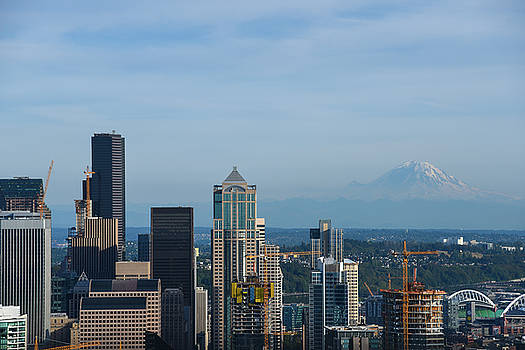 Downtown Seattle by Maalikah Hartley
