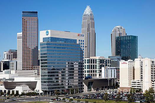 Bill Cobb - Downtown Skyline of Charlotte North Carolina