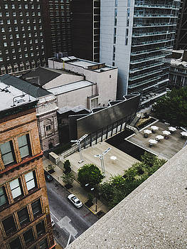 Downtown St. Louis From A Rooftop by Dylan Murphy