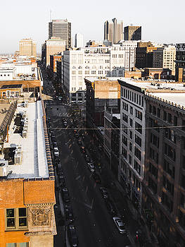 Downtown St. Louis From Above by Dylan Murphy