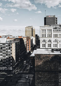 Downtown St. Louis From Rooftop by Dylan Murphy