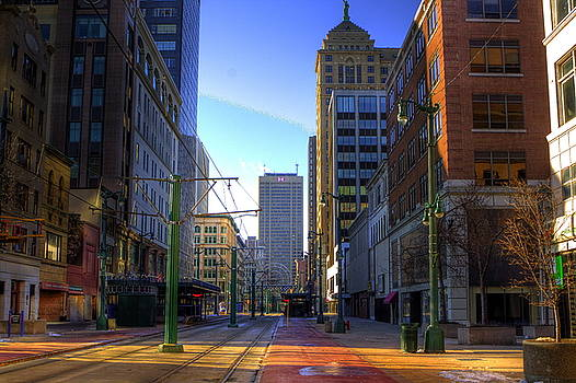 Don Nieman - Downtown Sunday Morning In February