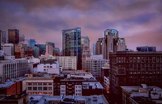 Downtown Sundown by Joseph Hollingsworth