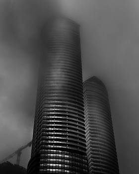 Downtown Toronto Fogfest No 20 by Brian Carson