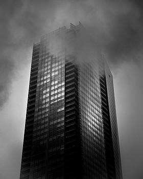 Downtown Toronto Fogfest No 24 by Brian Carson