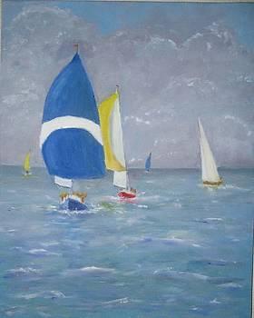 Downwind by Bernard Victor