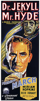 Daniel Hagerman - DR. JEKYLL and MR. HYDE THEATER LOBBY POSTER 1931
