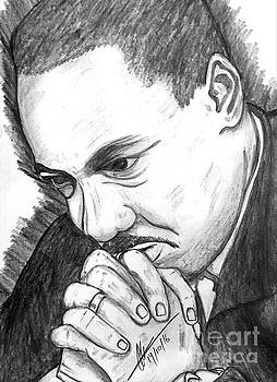Dr Martin Luther King Jr  by Collin A Clarke