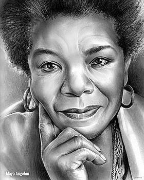 Dr Maya Angelou by Greg Joens