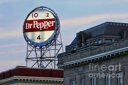 Dr Pepper Sign by Jerry Fornarotto