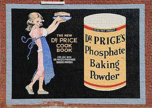 Dr. Prices Phosphate Baking Powder On Brick by J Laughlin