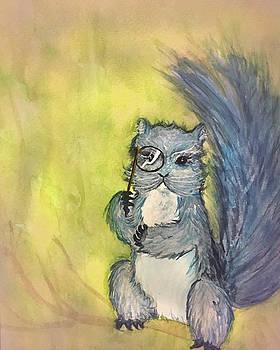 Dr. Septimus Squirrel by Annie Kehoe