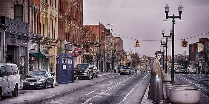 Dr Who in Ypsilanti by Pat Cook